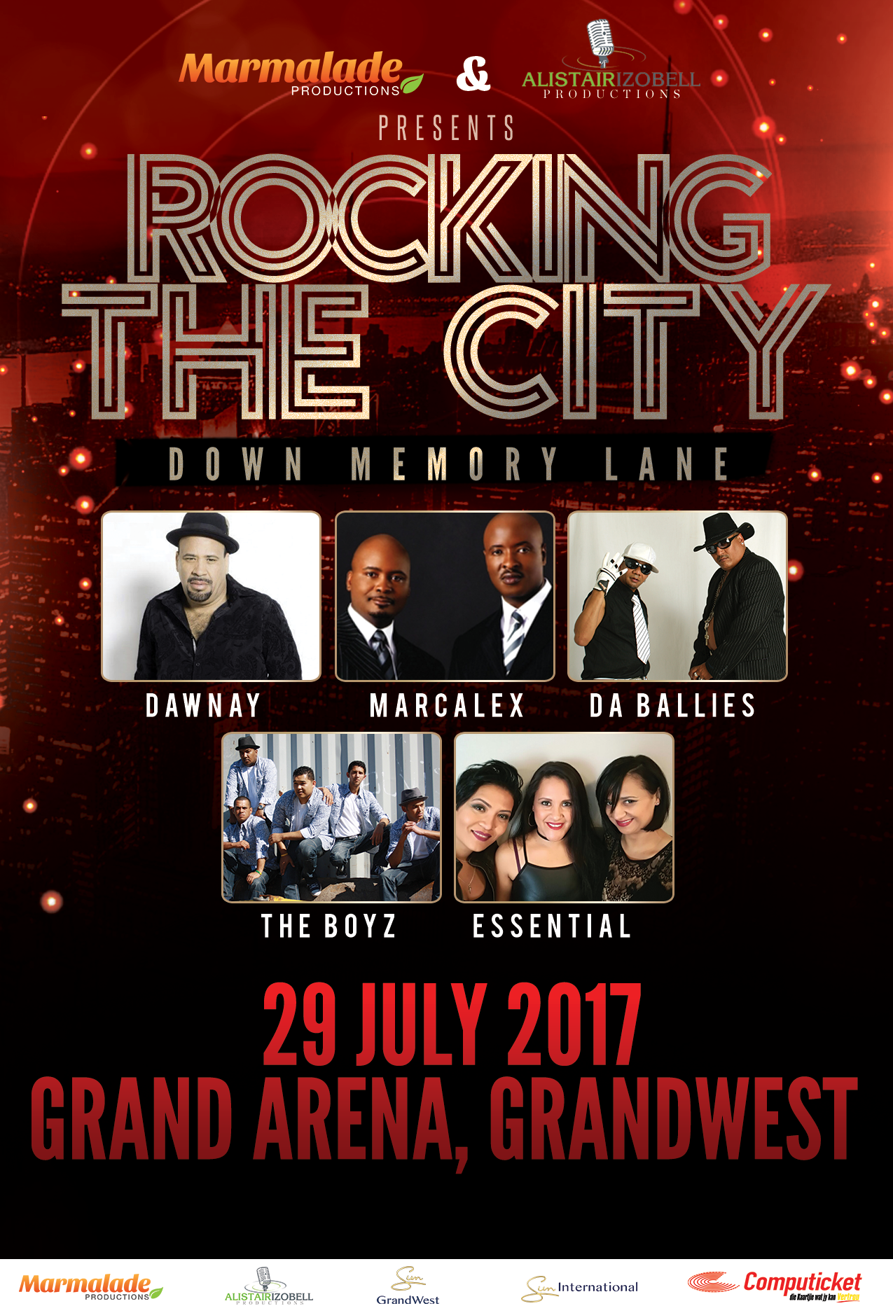 ROCKING THE CITY 2017